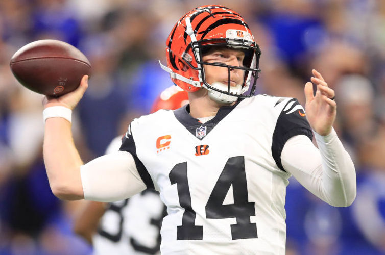 Andy Dalton and the Bengals are home underdogs against the Ravens on Thursday night.