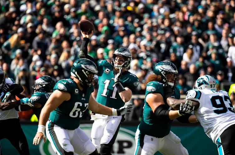 Cowboys vs Eagles odds